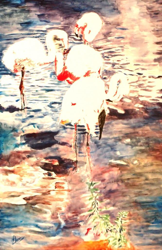 - Acrylique sur toile - format 40 x 60 cm