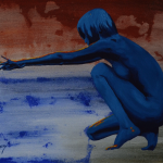 - Acrylique et huile - format 50 x 40 cm